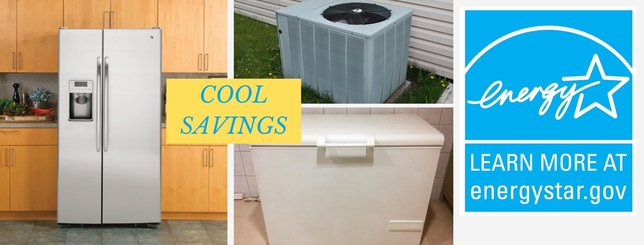 Energy Star Appliance Rebate Collage