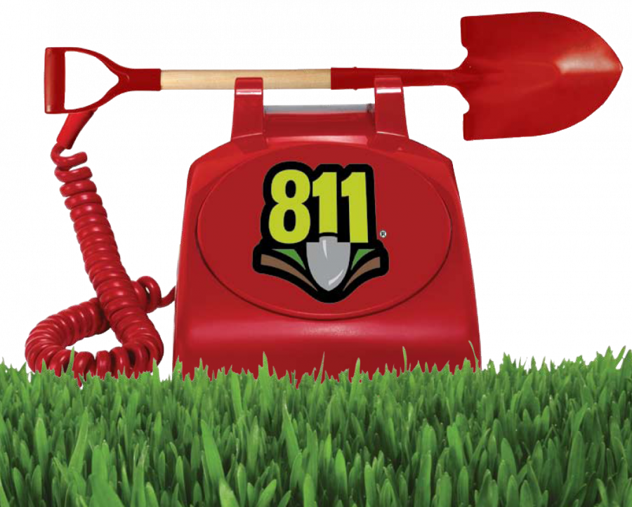 Call 811 - Know before you dig