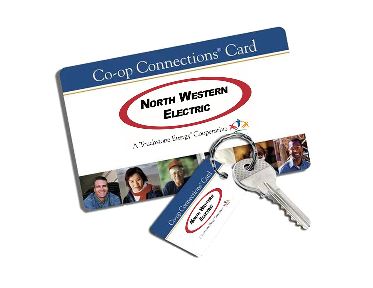 Connections Card and Key Fob